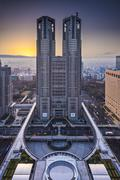 Metropolitan government building Stock Photos