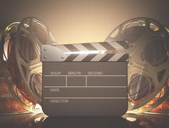 Clapboard Light Stock Illustration