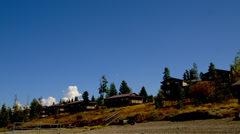 Lake Side View, Grand Tetons Stock Footage