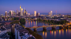 Frankfurt germany Stock Footage