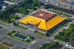 dr. sun yat-sen memorial hall - stock photo