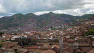 Stock Video Footage of Cusco City Time Lapse