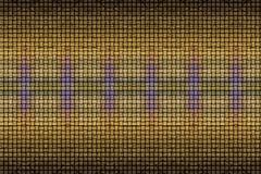Closeup shot of digital Digital Art Stock Illustration