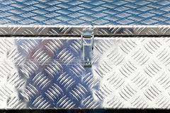 metal industrial box crate - stock photo