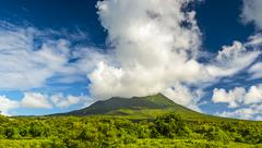 Nevis peak Stock Photos