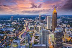 Atlanta skyine Kuvituskuvat