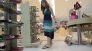 Stock Video Footage of Young Lady Shopper