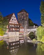 executioner's bridge - stock photo