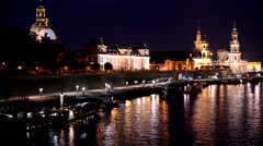 Dresden, Germany Stock Footage