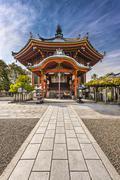 Nara at kofukuji temple Stock Photos