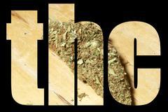 Stock Illustration of marijuana, medical and recreational marijuana industry in america