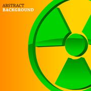 Atomic background Stock Illustration