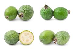 Feijoa - stock photo