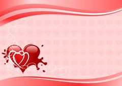 Stock Illustration of Valentines illustration