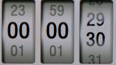 Electronic timer Stock Footage