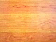 artificial  veneer with  natural wooden pattern - stock photo