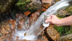 Mountain source Stock Footage