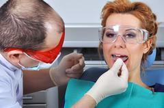 Dental splint Stock Photos