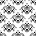 Stock Illustration of ornate floral arabesque seamless pattern