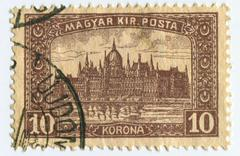 Stock Photo of postage stamp.