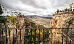 picturesque view of Ronda - stock photo