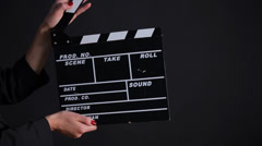 Clapper Board Stock Footage