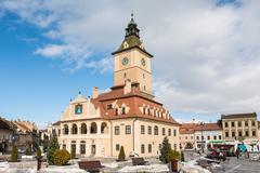 Council House Of Brasov - stock photo