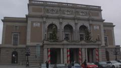 Royal Swedish Opera in Stockholm Stock Footage