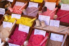 Aromatic sugar Stock Photos