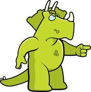 Stock Illustration of Angry Dinosaur