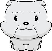 Stock Illustration of Baby Bulldog