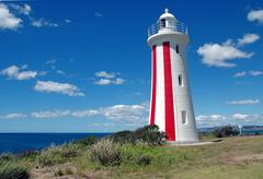 Mersey Bluff Lighthouse, Tasmania Australia Stock Photos