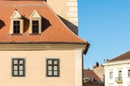 Stock Photo of Medieval House Architectural Details