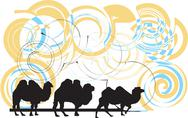 Stock Illustration of Camel illustration