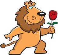 Lion Flower Stock Illustration
