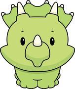 Baby Dinosaur Stock Illustration