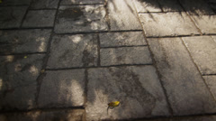 Stone Shadow Texture Stock Footage