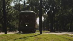 New Orleans Streetcar - stock footage
