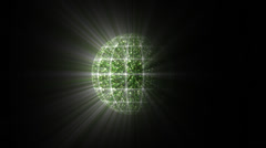 Disco glitter ball Stock Footage