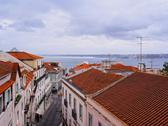 Stock Photo of alfama skyline in lisbon