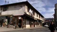 Sarajevo craft shop Stock Footage