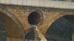 Latin Bridge Stock Footage
