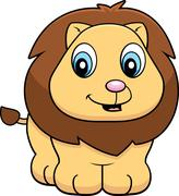 Baby Lion - stock illustration