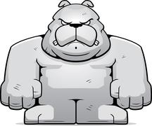 Big Bulldog - stock illustration