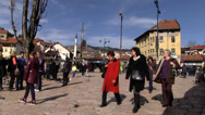 Stock Video Footage of Sarajevo Sebilj