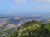 Stock Photo of moorish castle in sintra