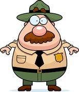 Park Ranger Stock Illustration