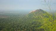 Stock Video Footage of Asia panorama from Mount Sigiriya
