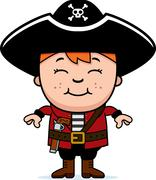 Kid Pirate - stock illustration