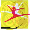 Stock Illustration of Ballet, Vector illustration